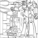 דף צביעה רובוטריקים 22