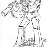 דף צביעה רובוטריקים 21
