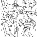דף צביעה רובוטריקים 20