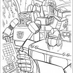 דף צביעה רובוטריקים 19