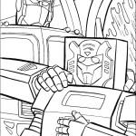 דף צביעה רובוטריקים 18