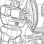 דף צביעה רובוטריקים 16