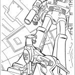 דף צביעה רובוטריקים 14