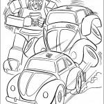 דף צביעה רובוטריקים 11