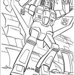 דף צביעה רובוטריקים 9
