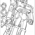 דף צביעה רובוטריקים 8