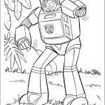 דף צביעה רובוטריקים 7