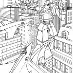דף צביעה רובוטריקים 6