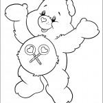 דף צביעה הדובה שיתופית