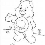 דף צביעה דוב קוטר
