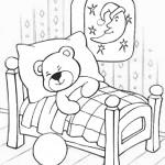 דף צביעה דובוני אכפת לי ישן