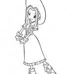 דף צביעה מימי טאצ'קאווה היפה