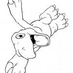 דף צביעה אגומון מעופף