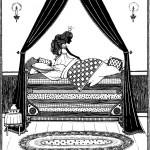 דף צביעה הנסיכה והעדשה 8