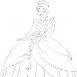 דף צביעה הנסיכה והעדשה 5