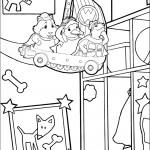 דף צביעה וונדר פטס בחנות הכלבים