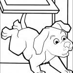 דף צביעה וונדר פטס הכלב הנמלט