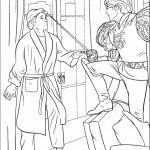 דף צביעה מכושפות 6