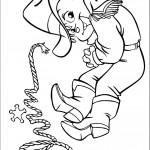 דף צביעה אלווין השריף