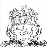 דף צביעה שיקוי הקסם