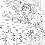 הדבורה בארי וצנצנות הדבש