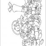 דף צביעה קלימרו 6