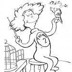 הקוקיה מזמרת ליצור של חתול תעלול