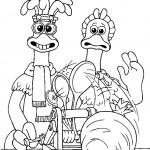 התרנגולים ומכונת הפשטידות