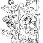 דף צביעה מרד התרנגולים 15