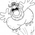 דף צביעה מרד התרנגולים 12