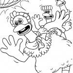 דף צביעה מרד התרנגולים 7