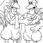 תרנגול מצדיע למפקד