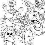 דף צביעה מרד התרנגולים 4