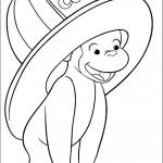 ג'ורג' הסקרן חובש כובע גדול במיוחד