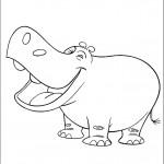 דף צביעה החזיר אוסקר