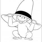 ג'ורג' הקטן חושב כובע ענק