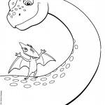 דף צביעה רכבת הדינוזאורים 56