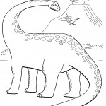 דף צביעה רכבת הדינוזאורים 55