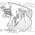היקאפ בסירה נדרף על ידי דרקון