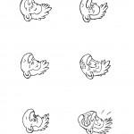 דף צביעה רגשות 3