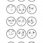 דף צביעה כל הרגשות
