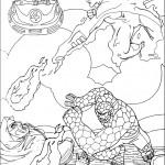 דף צביעה ארבעת המופלאים 29