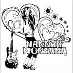 דף צביעה האנה מונטנה 16