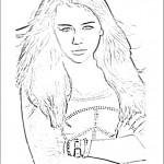 דף צביעה האנה מונטנה 15