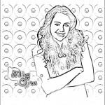 דף צביעה האנה מונטנה 13