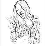 דף צביעה האנה מונטנה 10