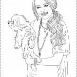 דף צביעה האנה מונטנה 8