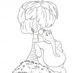הפיל הורטון נח בצל העץ