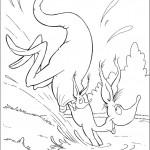 הקנגורואים קופצים למים
