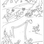 דף צביעה הפיל הורטון 6